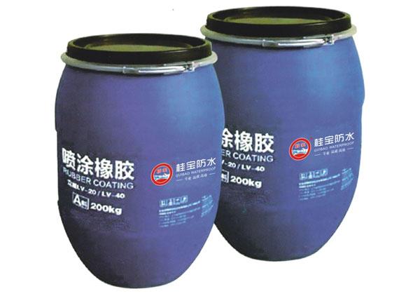 喷涂速凝橡胶沥青防水涂料